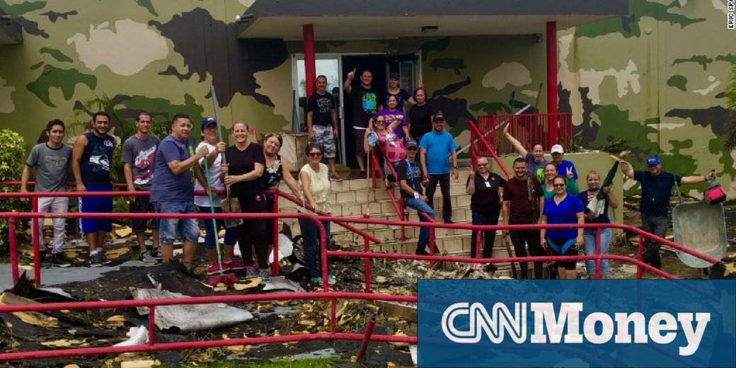 CNN Money Bluewater Defense Puerto Rico